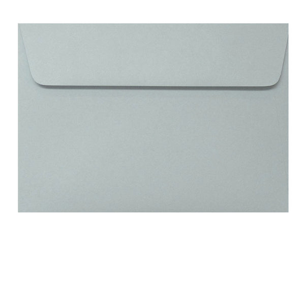 Grey c6 envelope fits 4x6 inch