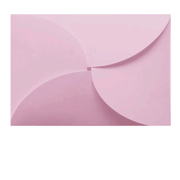 pastel pink butterfly C7 envelope for RSVP cards