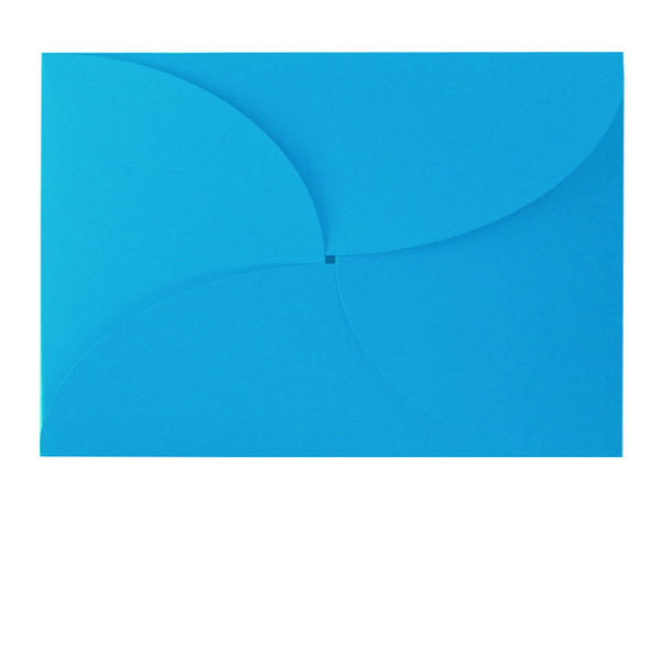 C6 butterfly pale blue envelope