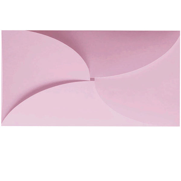 butterfly pastel pink DLE envelope
