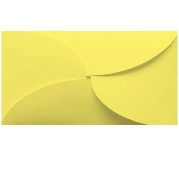 dle yellow butterfly envelope