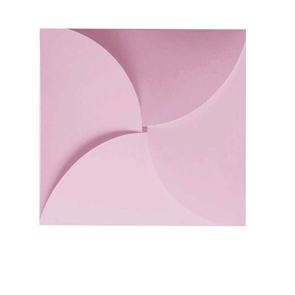 small butterfly pastel pink envelope
