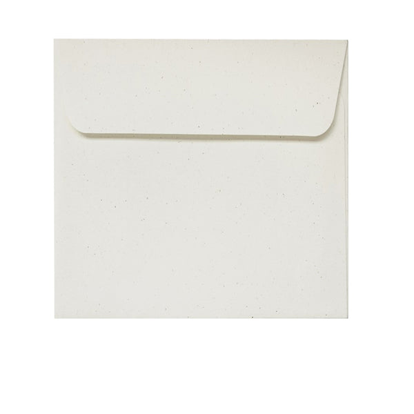 Birchwood - 130x130mm (SQUARE) - Recylced Off-White.