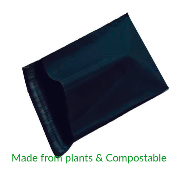 Black Compostable Courier Bags C3