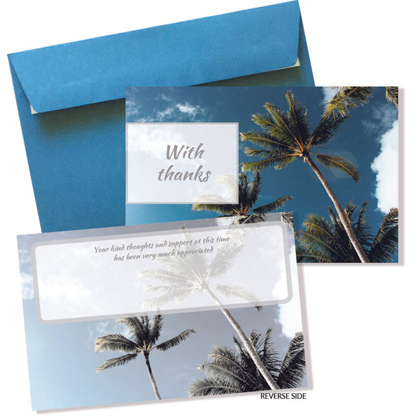Coastal Sympathy Cards & Envelopes (10pkt)