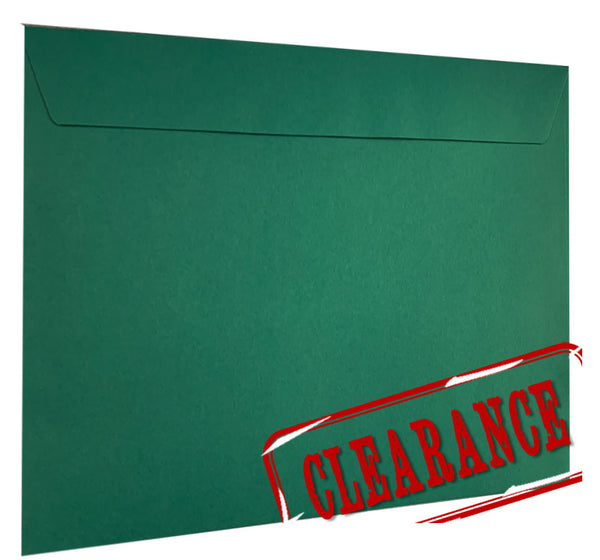DARK GREEN - 224x324mm clearance
