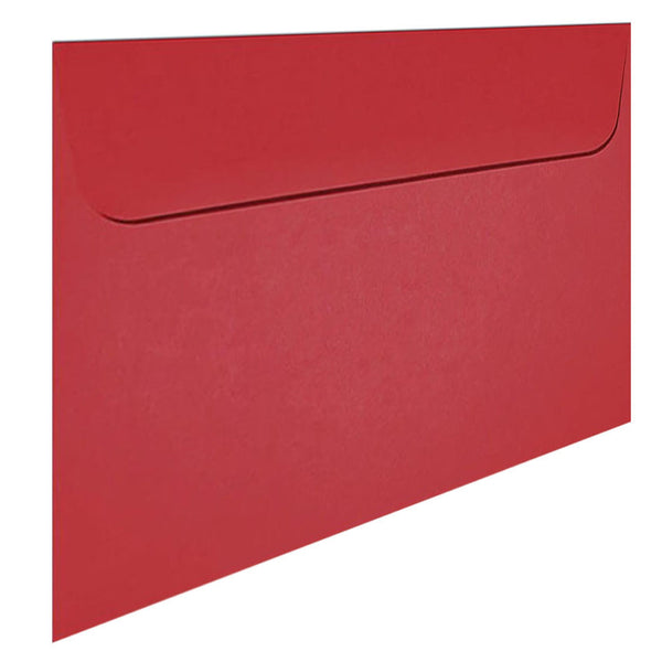 C4 red envelope fits A4 insert