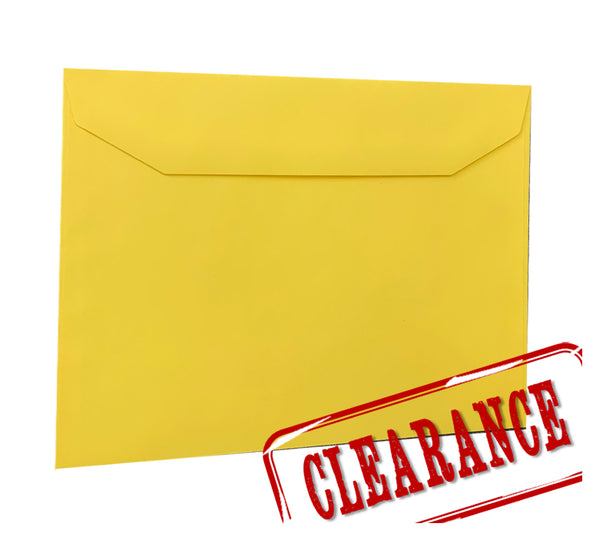 Canary Yellow - 162x229mm (C5) - SALE packet 10