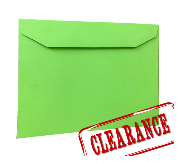 Lime Green - 162x229mm (C5) - SALE packet 10