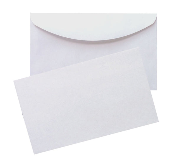 White Gummed Seal - 114x162mm (C6)