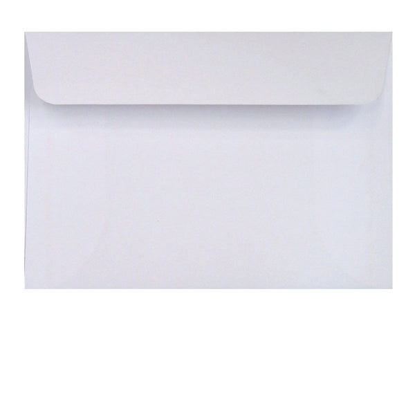 Pure White Envelopes - 114x162mm (C6)
