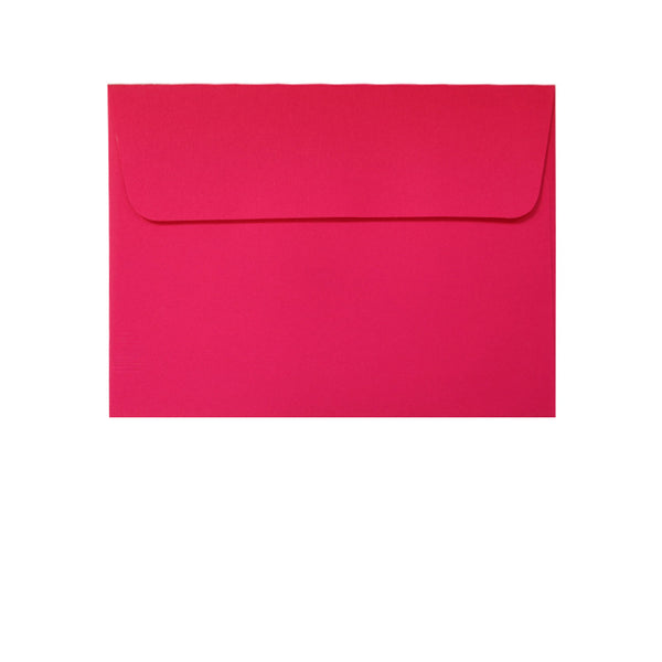 small bright pink wallet envelope