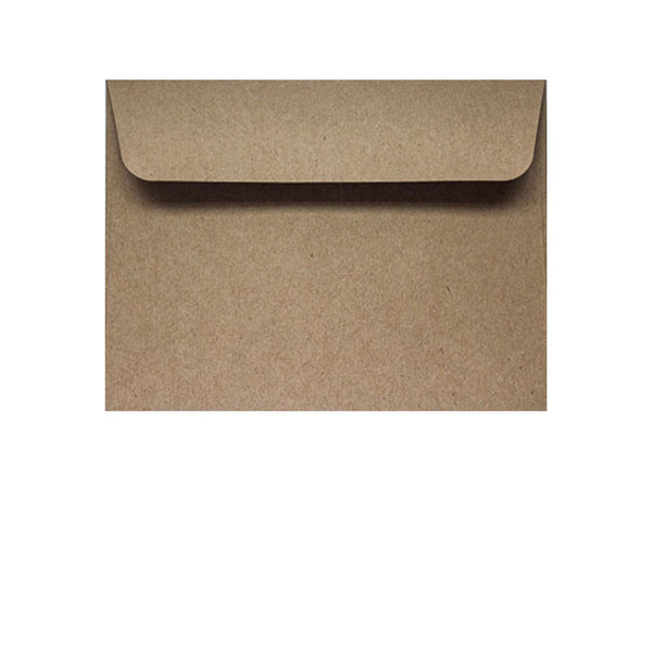 small recycled kraft wallet envelope