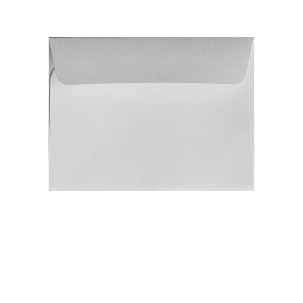 small white textured wallet envelope