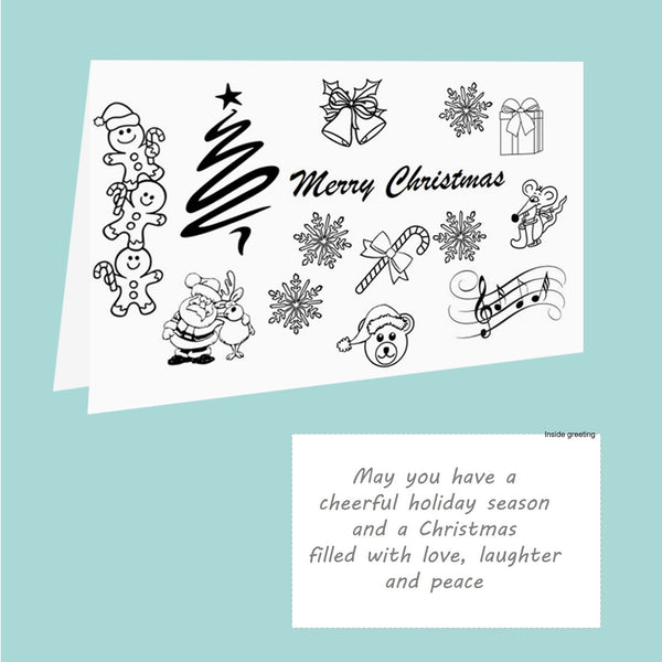 Christmas Card Pack - Doodles