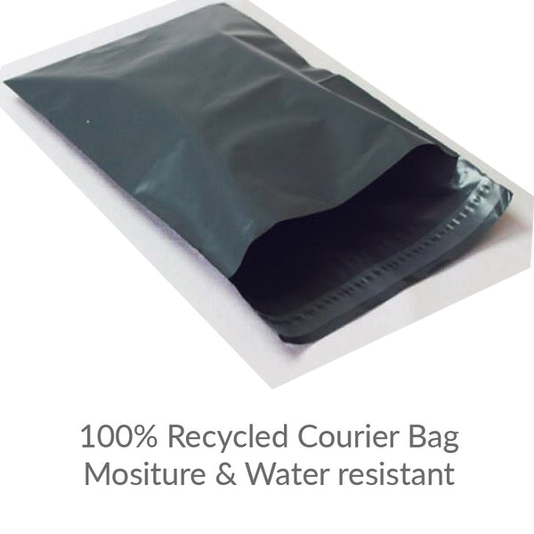 Grey Courier Bags A3 - 100% Recycled