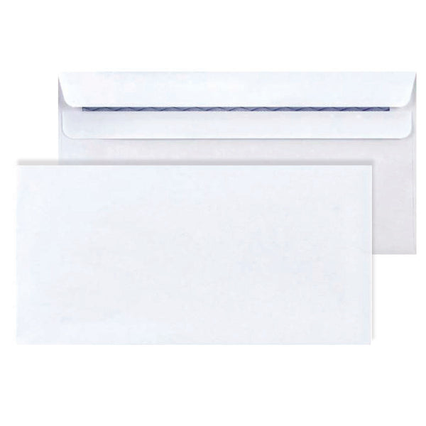 White - 120x235mm (MAXPOP) Self-seal