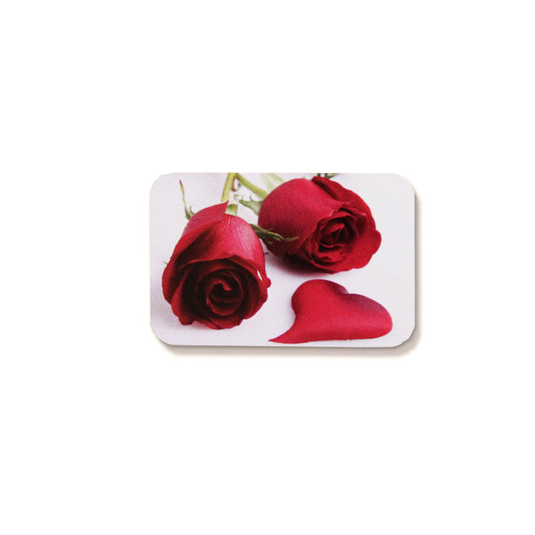 Red Rose Seal - 27x45mm