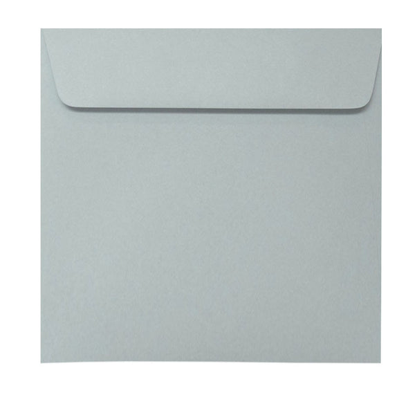 150mm square grey envelope