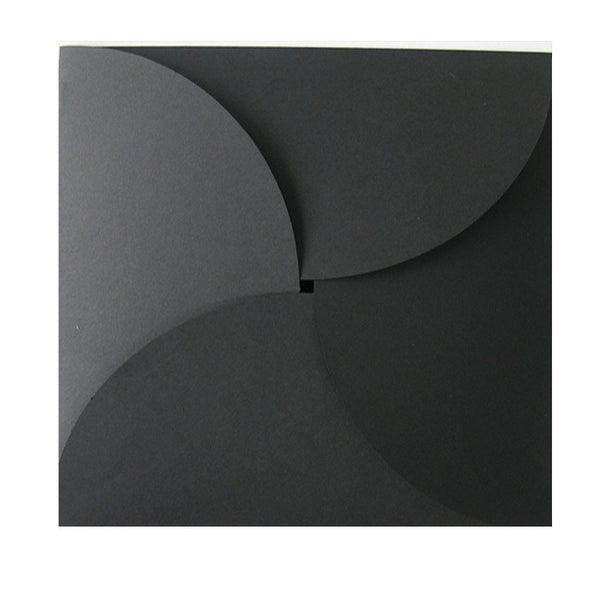 Pure Black - 160x160mm (BUTTERFLY)