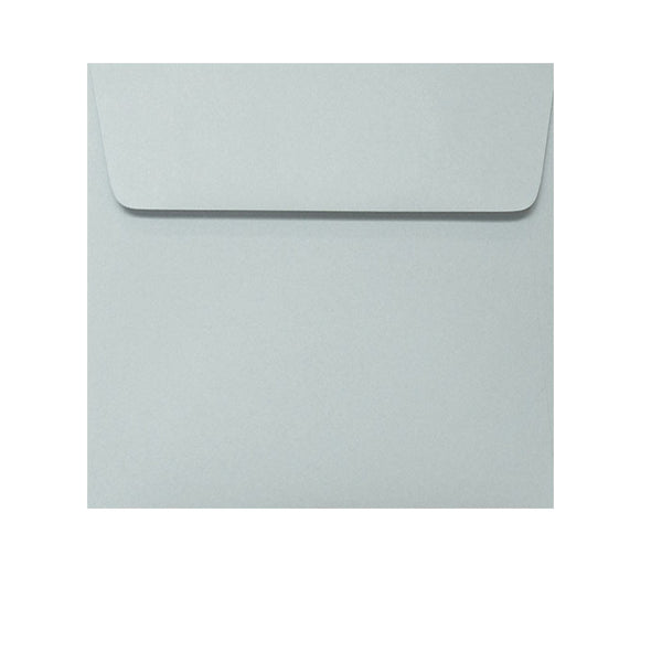 small 120mm square grey envelope