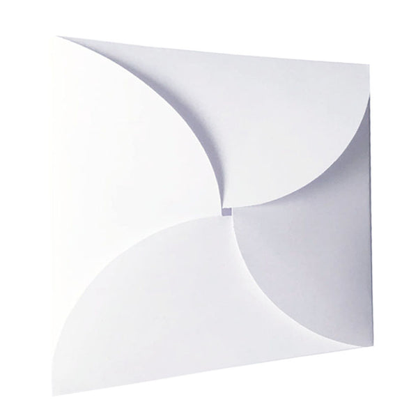 Pure White - 215x215mm (BUTTERFLY)