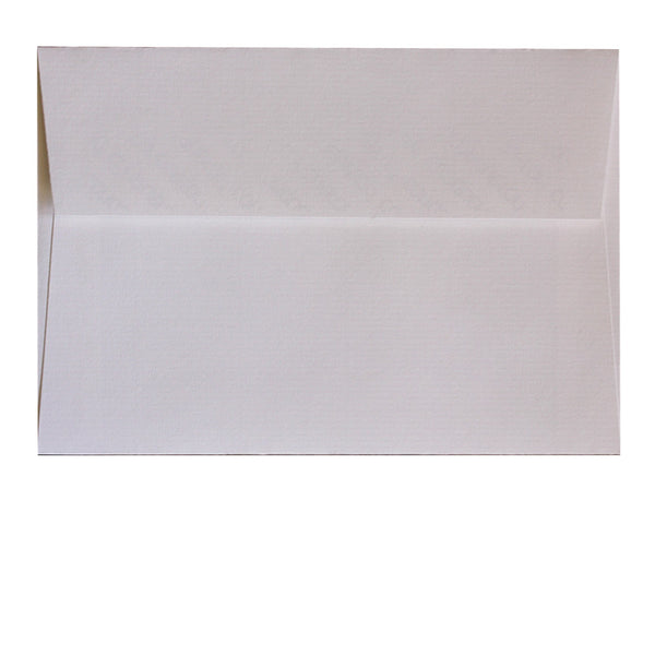 C6 textured White envelope