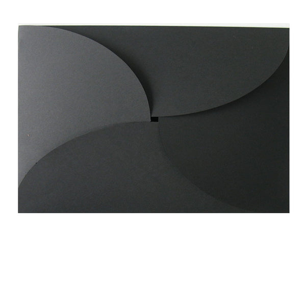Pure Black - 114x162mm (BUTTERFLY)
