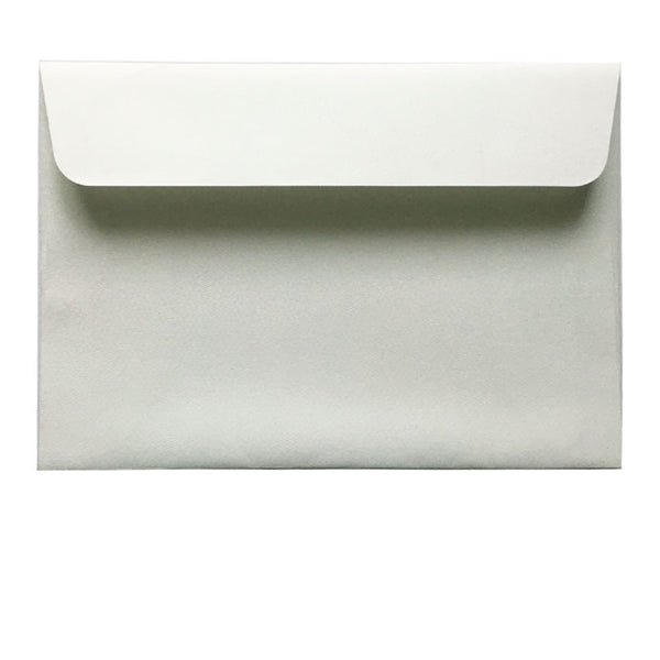 C6 white textured envelope