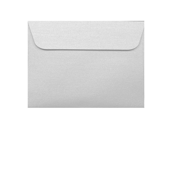 small wallet icegold white metallic envelope