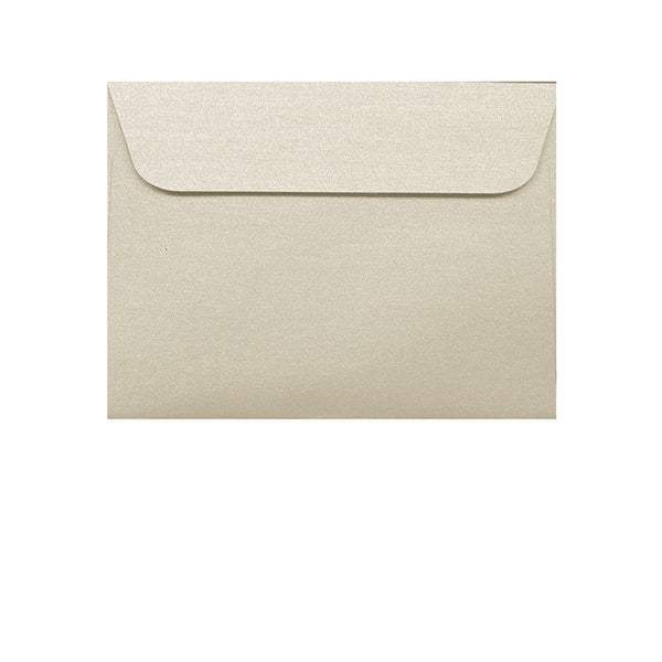 ivory cream metallic small wallet envelope