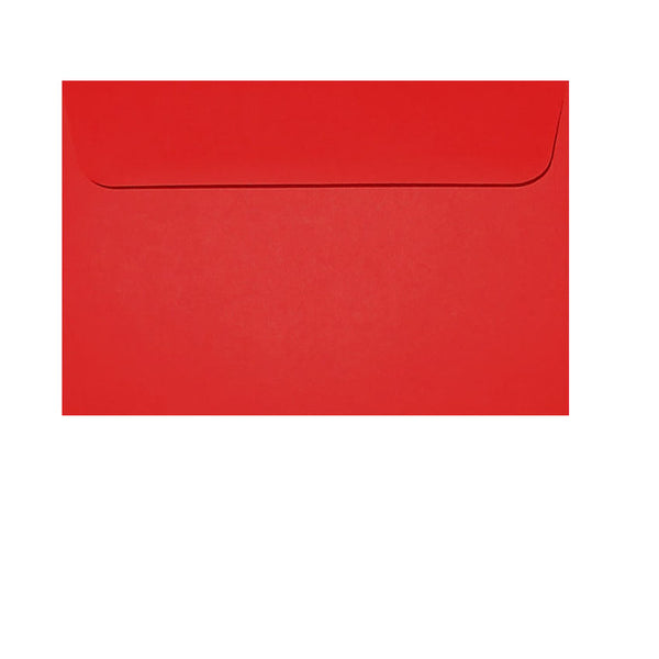 small wallet bright red, coin envelope