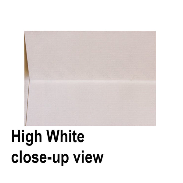 HIGH WHITE LAID - DL