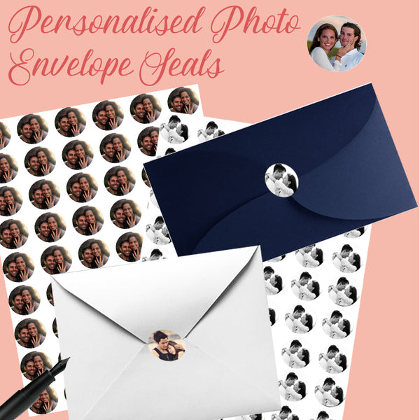 Personalised Photo Seal - 30mm Round