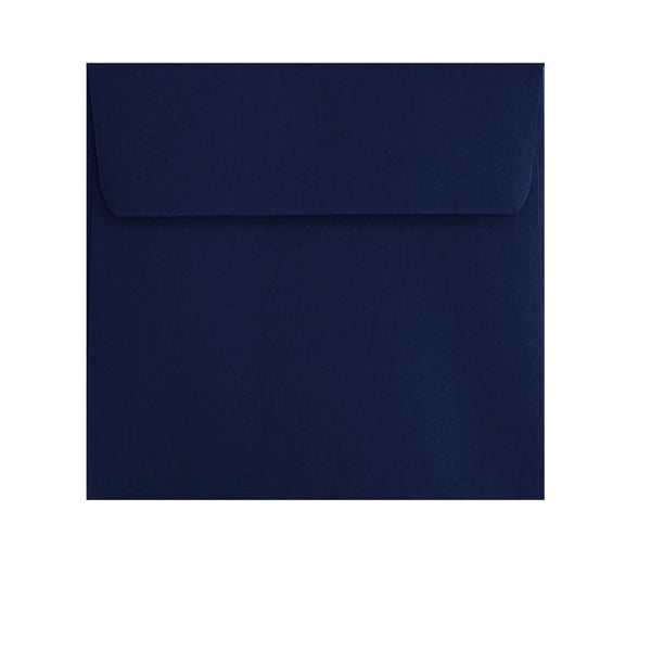130mm square navy blue, formal, weddings, vouchers