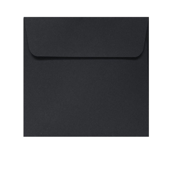 130mm square black envelope