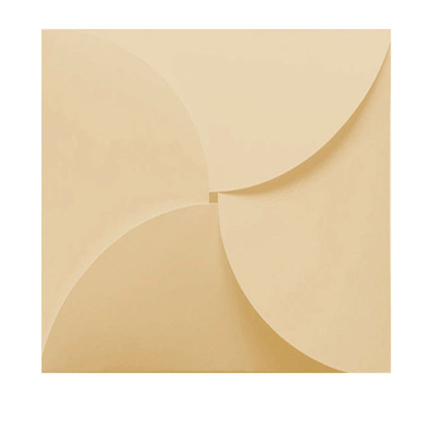 Pure Ivory - 160x160mm (BUTTERFLY)