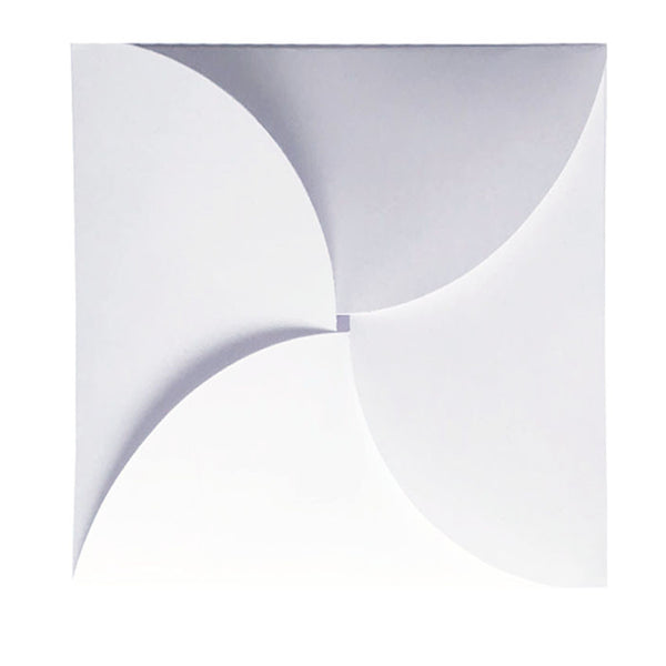 Pure White - 160x160mm (BUTTERFLY)