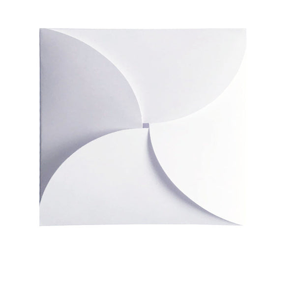 Pure White - 120x120mm (BUTTERFLY)
