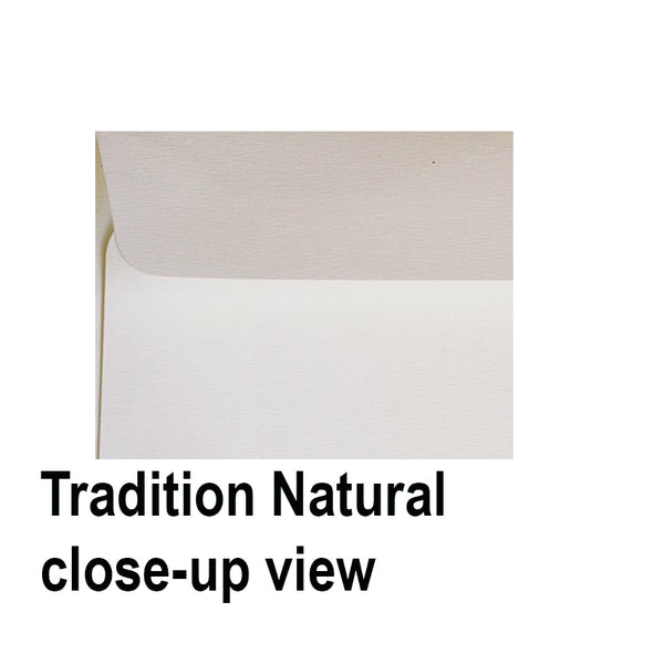 Tradition Natural - 135x185mm (USA A7)