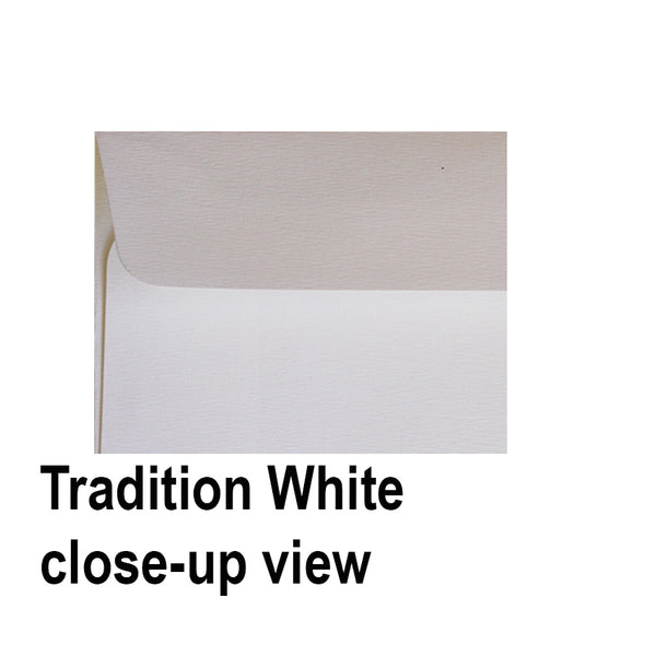 Tradition White - 120x180mm (STUBBIE)