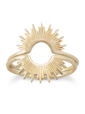 14 karat Gold Sunset Ring - Inaru Vogue Boutique