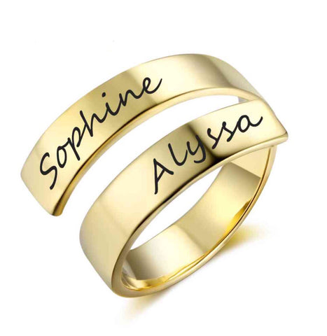 Alyssa Engraved Ring