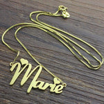 Minnie Mouse Font Name Necklace