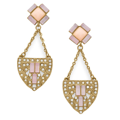 Art Deco Statement Earrings - Inaru Vogue Boutique
