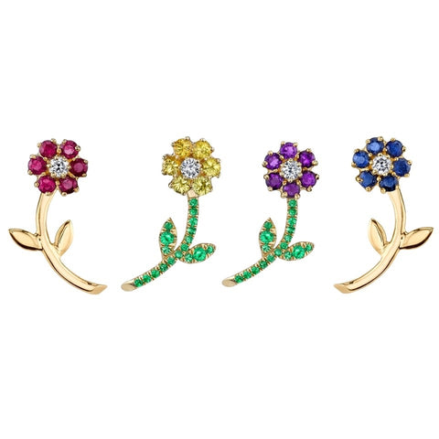 Marguerite Ear Jackets Earrings