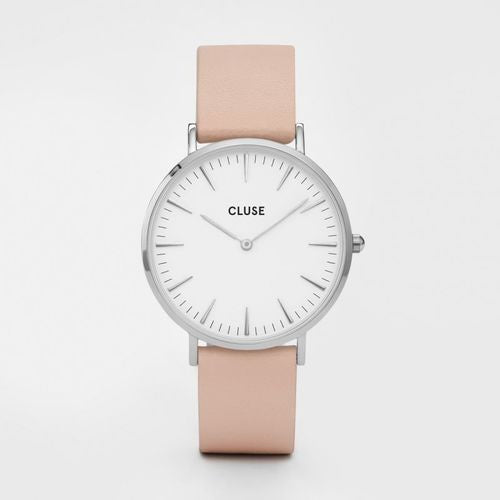 Cluse Watch Nude Leather