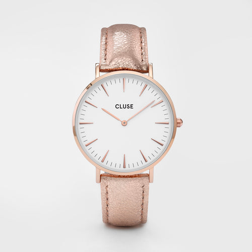 Cluse Rose Gold Metallic Watch