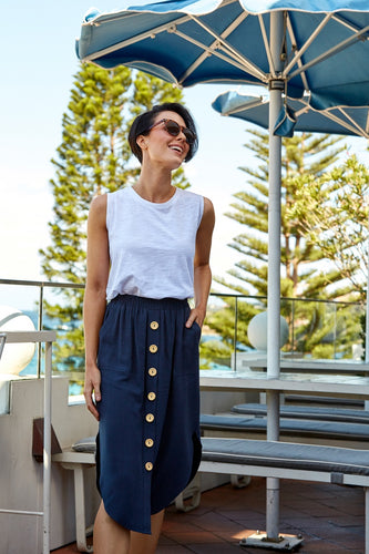 La Barre Skirt Navy