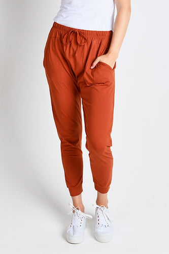 Drop Crotch Rust Pant